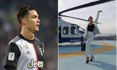 Ronaldo and wife