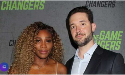Serena Williams and Alexis Ohanian snap
