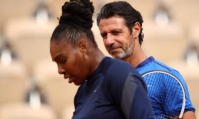Serena Williams and Patrick