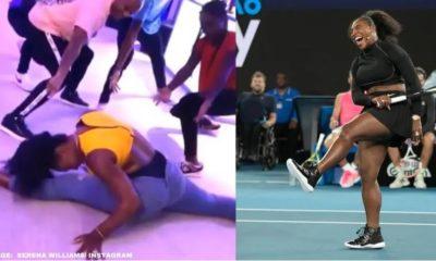 Serena Williams dance