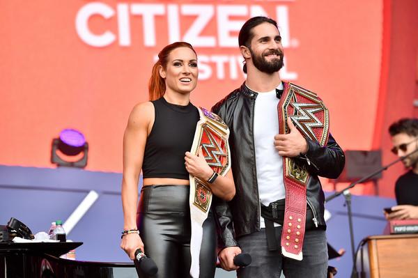 Seth Rollins & Becky Lynch