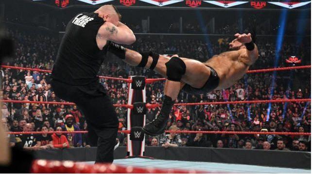 Brock lesnar and Drew