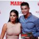 Cristiano Ronaldo and fiancee