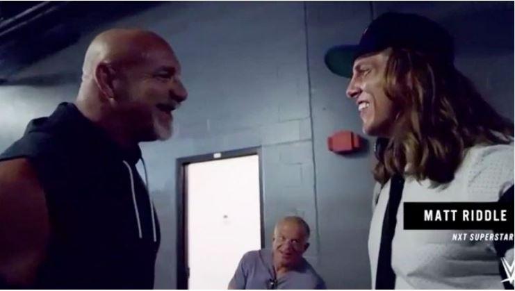 Goldberg and Matt Riddle
