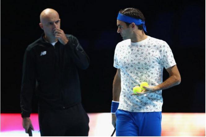 Ivan and Roger Federer