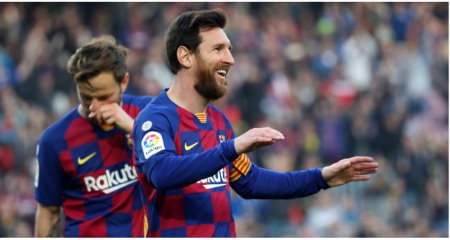 Lionel Messi and team