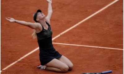 Maria Sharapova thankful