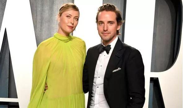 Maria sharapova and husband