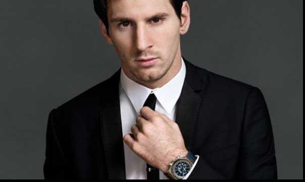 Messi in suit