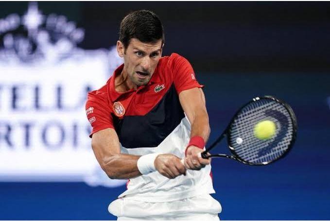 Novak Djokovic act
