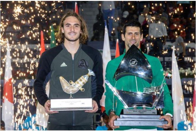 Novak Djokovic champion