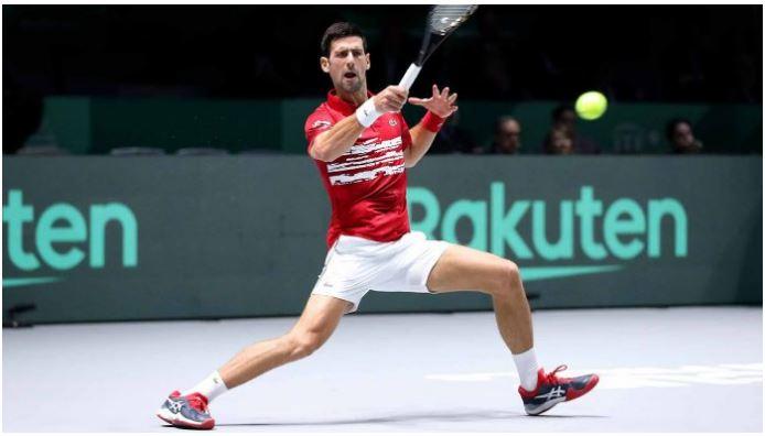 Novak Djokovic handle