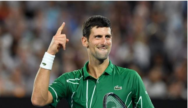 Novak Djokovic no 1