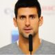 Novak Djokovic speaking