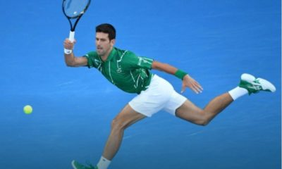 Novak Djokovic walk