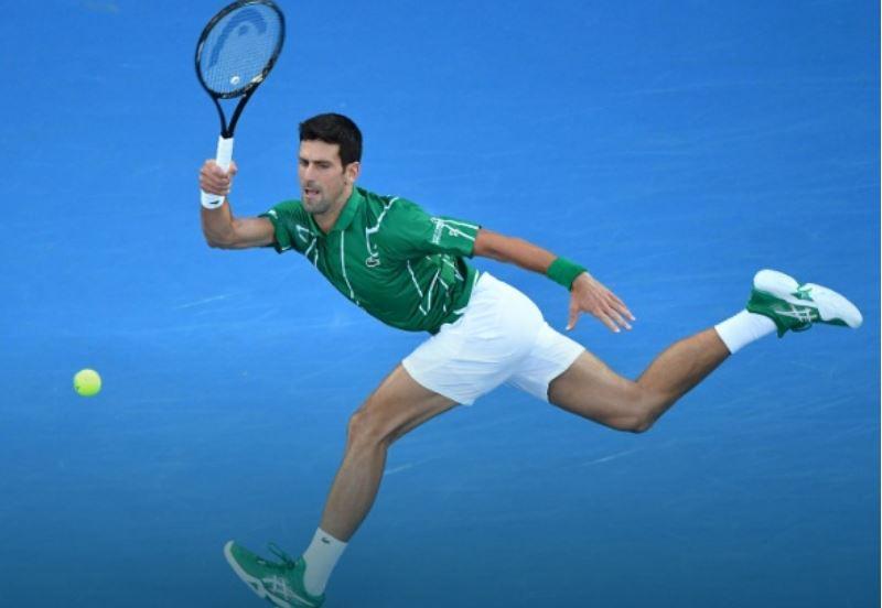 Novak Djokovic walk