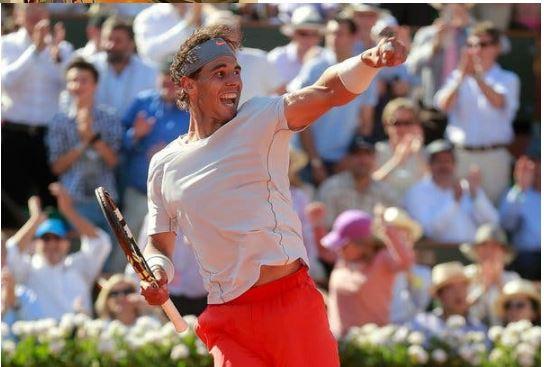 Rafael Nadal Jubilated