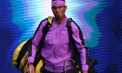 Rafael Nadal action