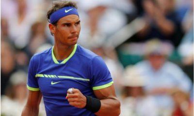 Rafael Nadal fist