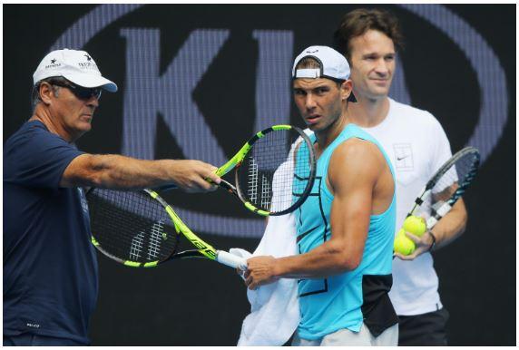 Rafael Nadal instruction