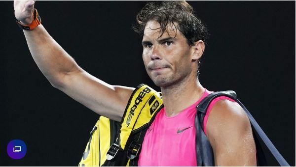 Rafael Nadal wave