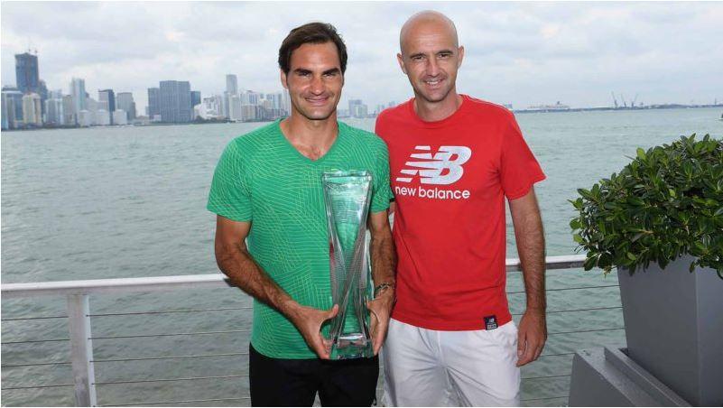 Roger Federer and Ivan