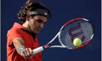 Roger Federer backhand