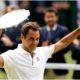 Roger Federer lifts