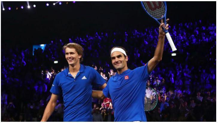 Roger Federer mentee