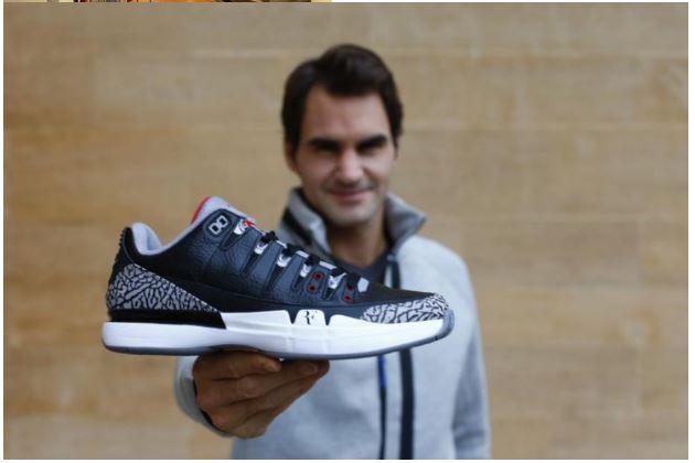 Roger Federer show shoe