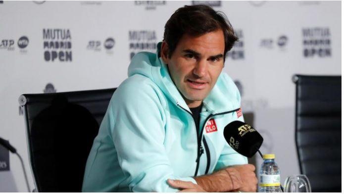 Roger Federer speaking