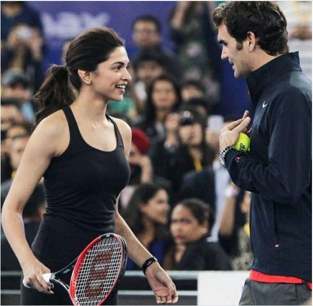 Roger Federer talking