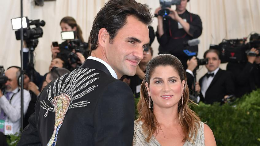 Roger Federer & wife