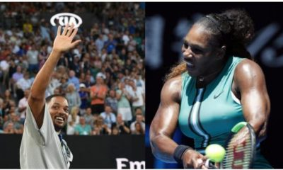 Serena Williams and Will smith