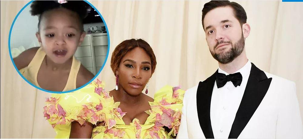 Serena Williams and husband snap