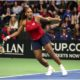 Serena Williams playing