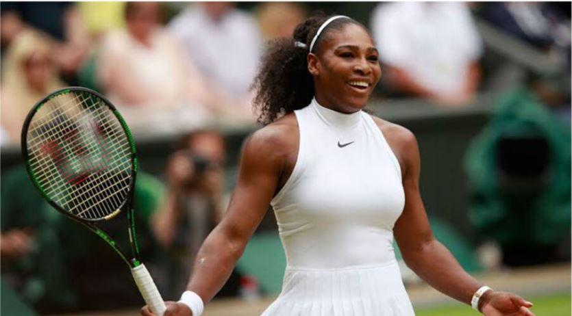 Serena Williams smile