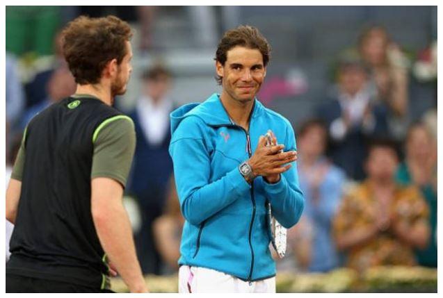 Andy Murray meet Rafael Nadal