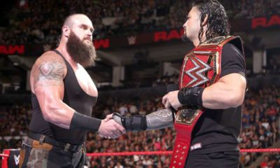 Braun Stowman and Roman Reigns