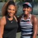Coco Gauff and Serena Williams