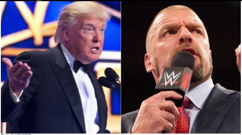 Donald Trump and Triple H