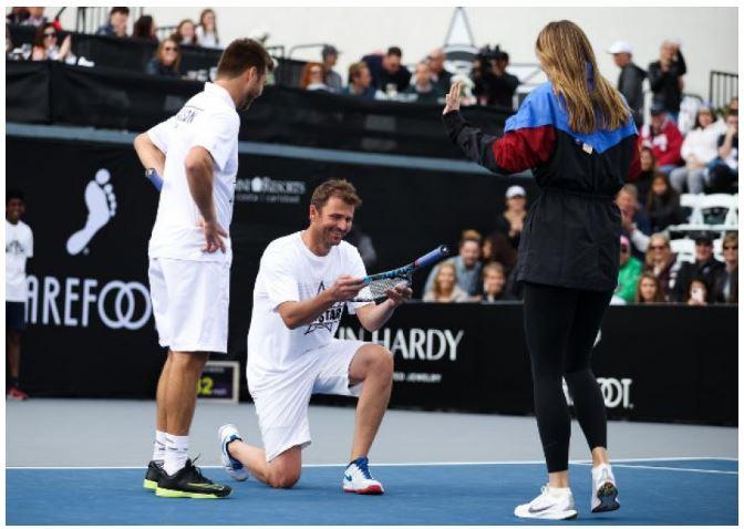 Maria Sharapova appreciated