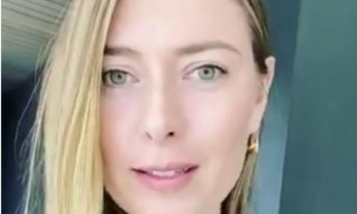 Maria Sharapova eye