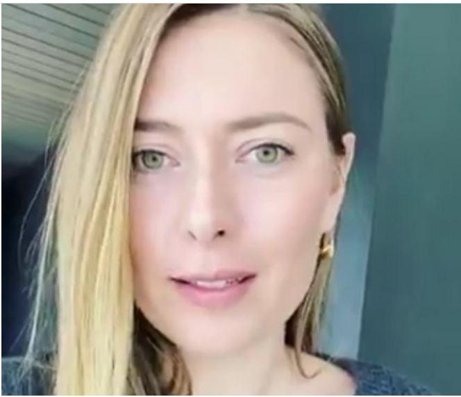 Maria Sharapova eye
