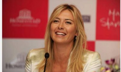 Maria Sharapova laugh