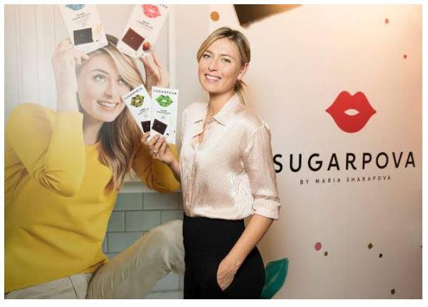Maria Sharapova sugar