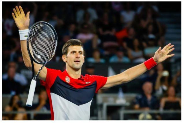 Novak Djokovic drop racket