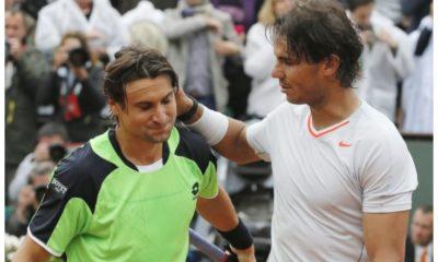 Rafael Nadal and David Ferrer snap