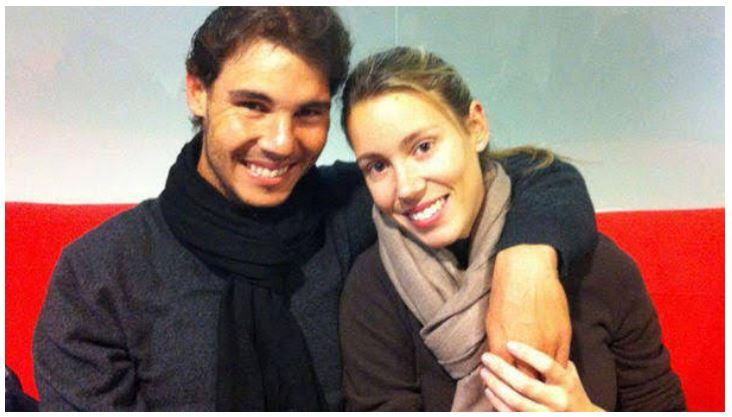 Rafael Nadal and sister