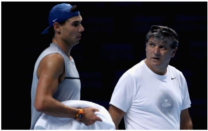 Rafael Nadal and uncle